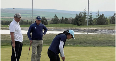 Turkmen diplomatic mission to Georgia organizes golf tournament