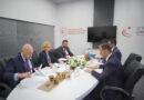 ნათია თურნავა აზერბაიჯანის ტრანსპორტის, კავშირგაბმულობისა და მაღალი ტექნოლოგიების მინისტრს შეხვდა